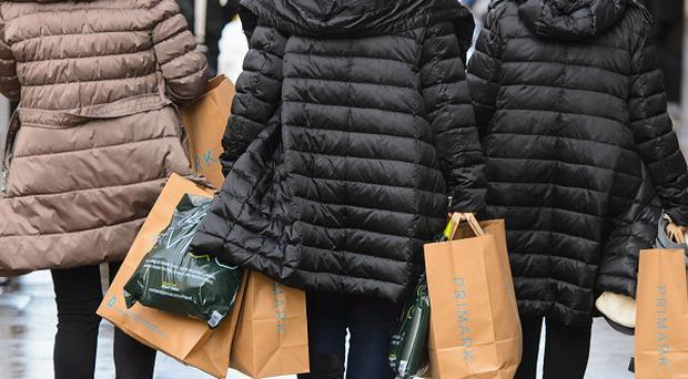 Prices for goods on the high street have eased, according to the latest inflation figures from the Office for National Statistics