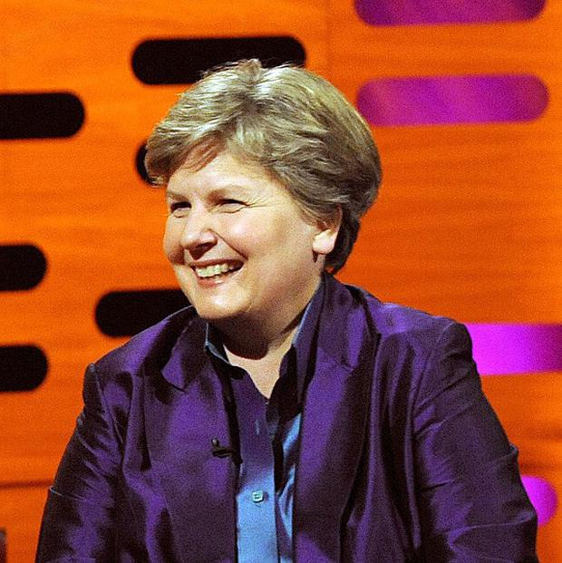 Comedienne Sandi Toksvig will renew vows with her partner as the first same-sex weddings take place.