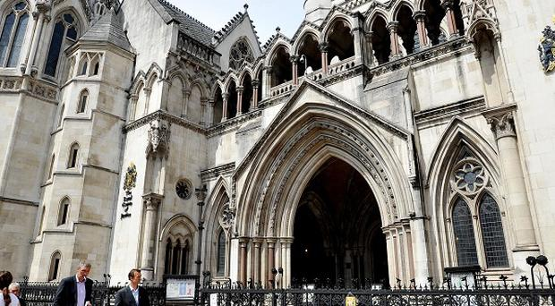 A judge received a thank you letter from a seven-year-old girl after sentencing her father for killing her mother, the High Court heard.