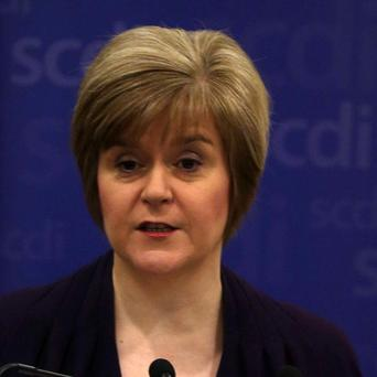 Nicola Sturgeon said reports that a pro-union government minister believes there would be a currency union between an independent Scotland and the rest of the UK reports gave a big boost to the Yes campaign.