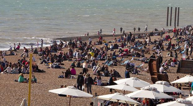 Brighton and other parts of southern Britain are set to enjoy sunny weather next week