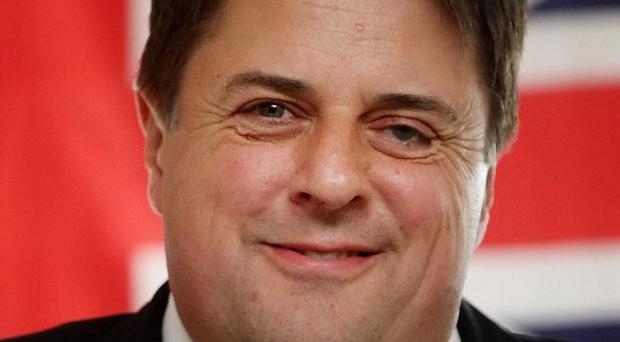 Former British National Party leader Nick Griffin