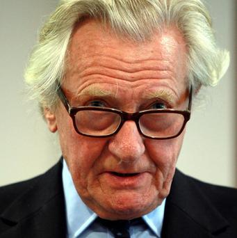 Lord Heseltine said mortgages of up to 5.5 times salary could create a 'dangerous situation'