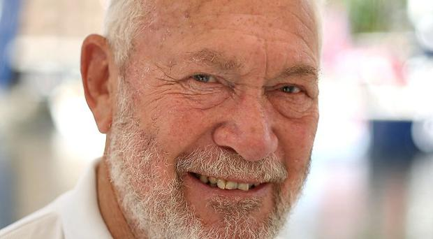 Sir Robin Knox-Johnston last competed in the Route de Rhum Transatlantic race in 1982