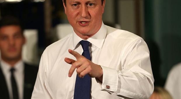 Prime Minister David Cameron will take part in a question and answer session with employees