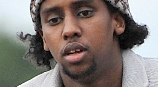 Mohammed Ahmed Mohamed was last seen fleeing a London mosque in a burka