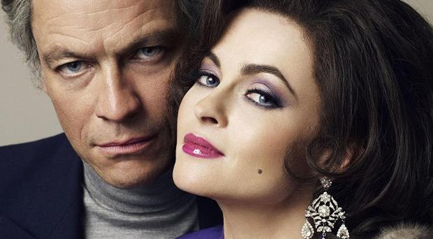 Dominic West and Helena Bonham Carter are nominated for Bafta awards for their roles as Richard Burton and Elizabeth Taylor
