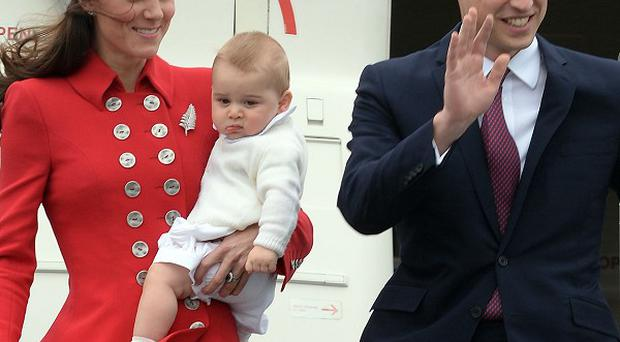 The Duke and Duchess of Cambridge are on an official tour of Australia and New Zealand with Prince George