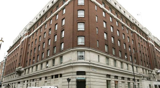 The Cumberland Hotel in central London, where three women were attacked with a hammer in one of the rooms inside