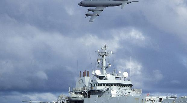 HMS Echo is helping in the underwater search for the flight recorder from the missing Malaysia Airlines flight MH370