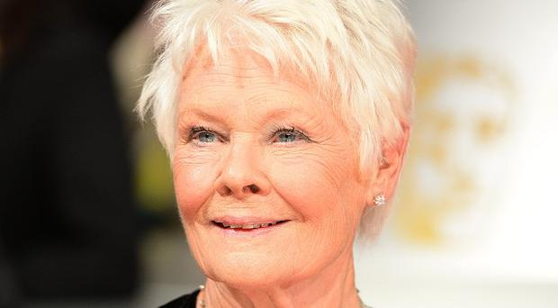 Dame Judi Dench is in contention for an award.