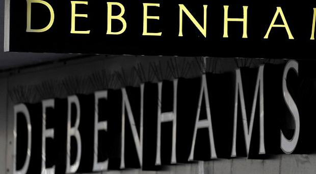 Debenhams' profits fell 24.5% to £85.2m in the six months to March 1