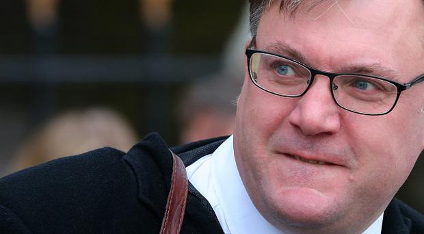 Ed Balls apologised after causing damage to a car while driving in a car park in Yorkshire
