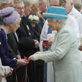 The Queen will hand out Maundy money