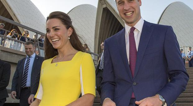 The Duke and Duchess of Cambridge at Sydney Opera House