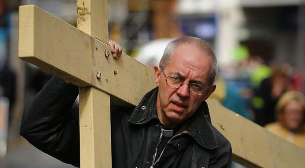 The Archbishop of Canterbury Justin Welby will deliver his Easter sermon today