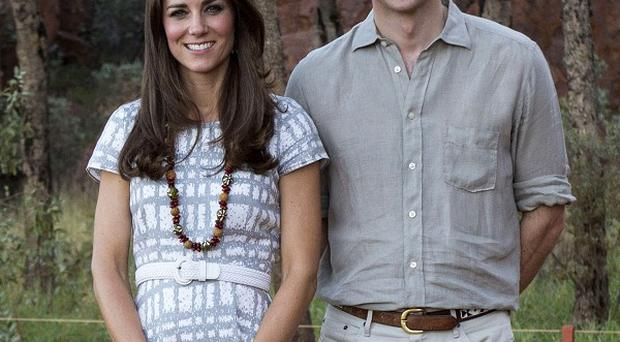 The Duke and Duchess of Cambridge are meeting youngsters in an Adelaide suburb