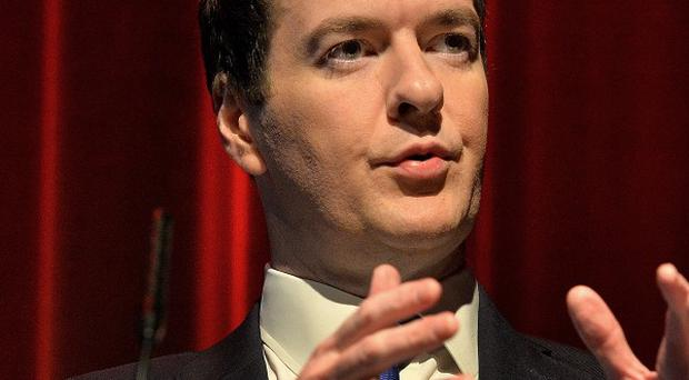 Monthly figures provided better news for George Osborne