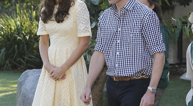 William and Kate continue their tour of New Zealand and Australia (AP)