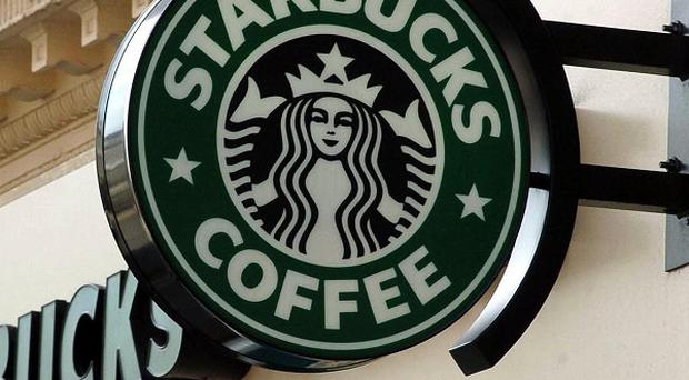 Starbucks' turnover fell from £413 million to £399 million in the year to October 2013