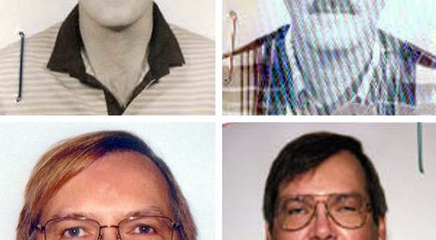Photos issued by the FBI of American William Vahey