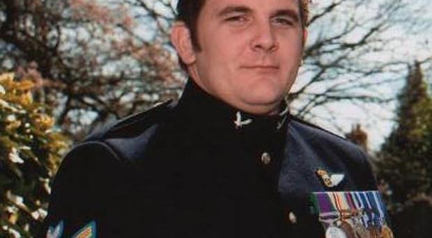 Corporal James Walters of the Army Air Corps who was one of five service personnel that died when a Lynx helicopter crashed in southern Afghanistan.