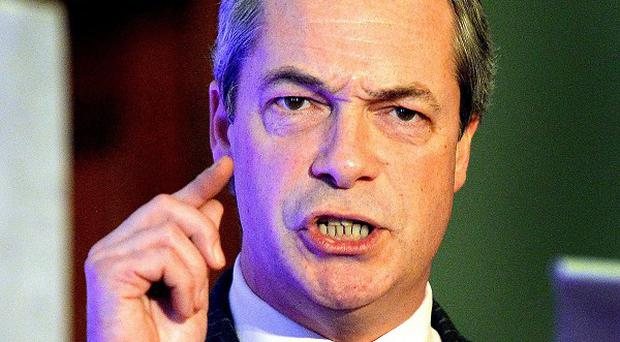 Ukip leader Nigel Farage has criticised recent comments made against his party