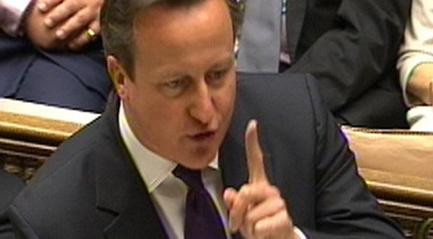 Prime Minister David Cameron has launched the Tory campaign for the European elections