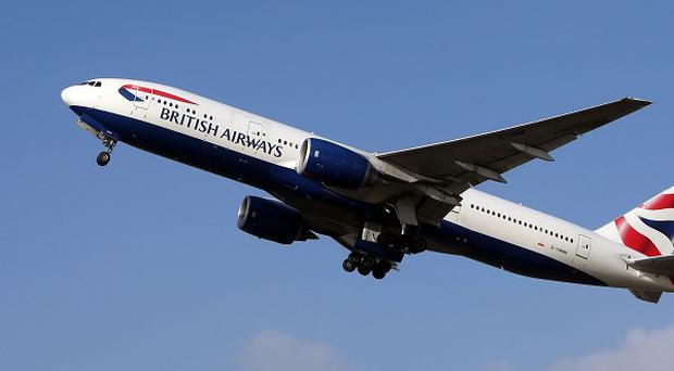 Passengers on the flight have been told that the risk of infection is