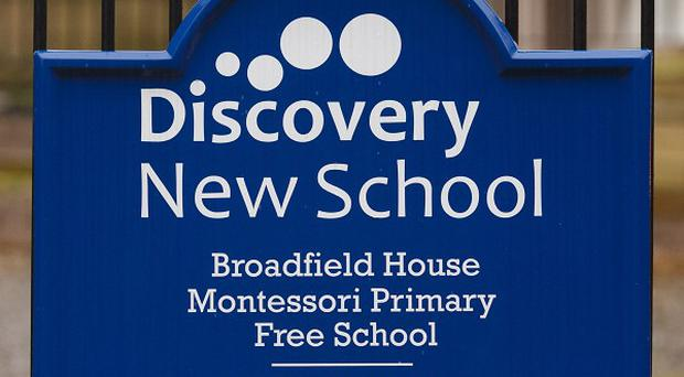 Pupils at a free school, understood to be Discovery New School in West Sussex, which was closed down amid standards concerns had been 'taught nothing', a union leader is claiming