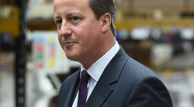 David Cameron says the Tories are