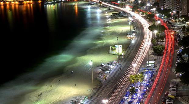 The BBC's World Cup stadium will be situated at the Copacabana beach.