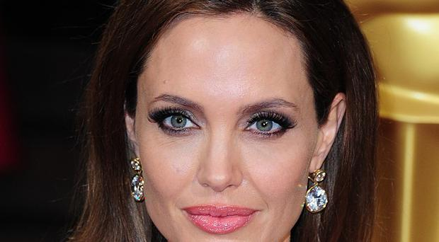 Angelina Jolie plays the title role in Maleficent