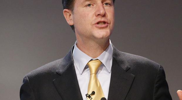 Nick Clegg says automatic prison sentences for offenders caught twice with a knife could