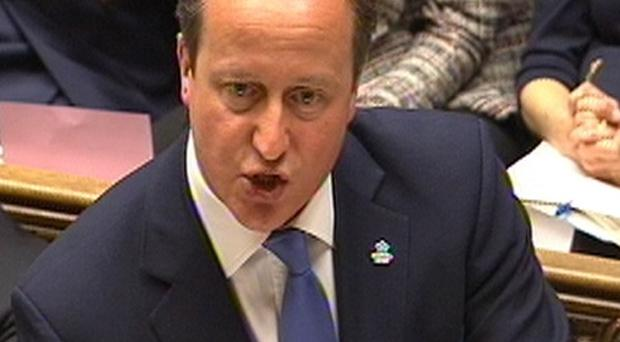 Prime Minister David Cameron has said people should not use the May 22 polls to register a protest vote