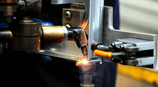 New manufacturing figures have provided a boost to the UK economic recovery