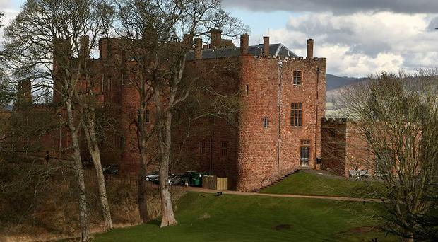Princess Victoria visited Powis Castle.