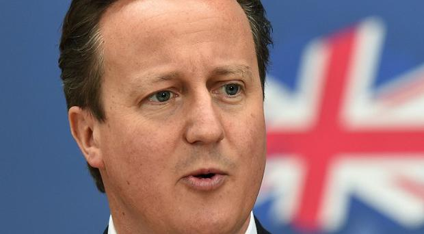 David Cameron called on floating voters to back his