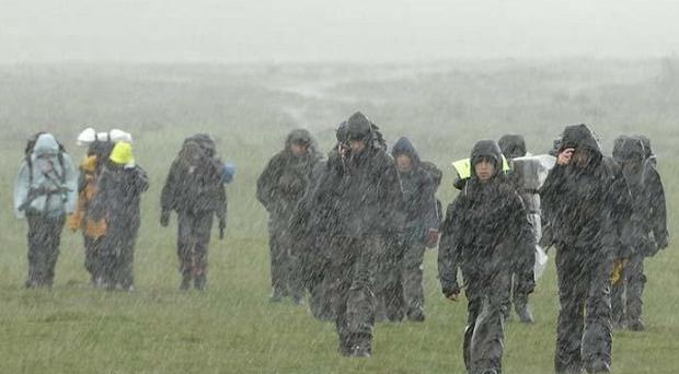 The Ten Tors Challenge is gruelling