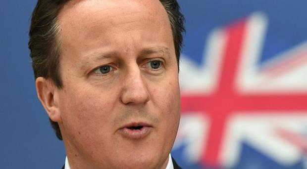David Cameron is meeting voters during a two-day visit to Scotland