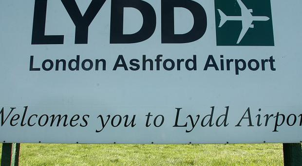 The £25m project at Lydd Airport includes a runway extension of almost 300m