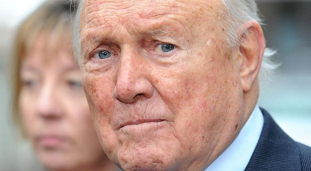 Stuart Hall has been found not guilty of raping two young girls