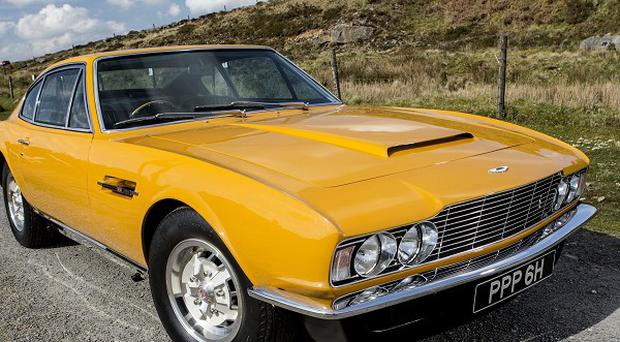 The famed 1970 Aston Martin DBS which starred in the hit British television series The Persuaders! sold for £533,500