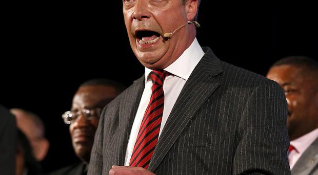 Nigel Farage said he was tired when he made his controversial remarks about Romanians