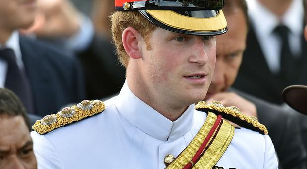 Prince Harry attends a New Zealand commemoration at the Cassino War Cemetery on his tour to Italy