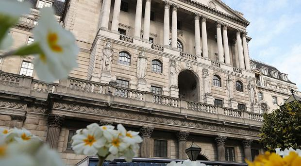 The Bank of England expects inflation to remain at or below its 2% target for the next few years