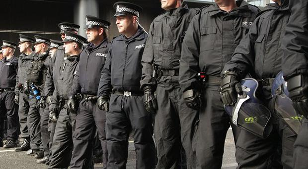 Ninety-three per cent of people surveyed said the number of police officers was important how good a job the police service can do