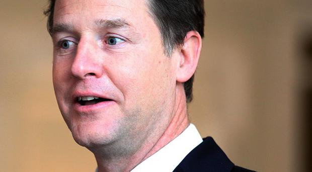 Deputy Prime Minister Nick Clegg has discussed the possibility of forming a future coalition with Labour