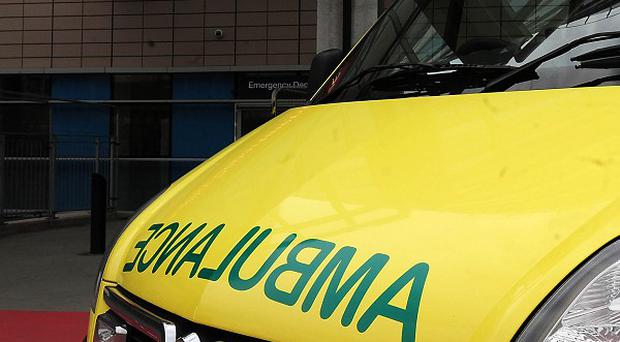 As many as eight crews were called to help the pensioner, but all were diverted to more serious cases