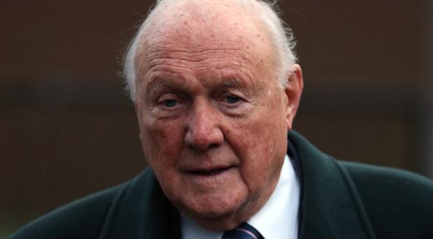 Stuart Hall will be sentenced today.